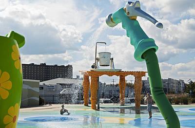 Photograph - Summer Fun In Asbury Park Nj by Elsa Marie Santoro