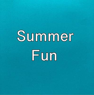 Painting - Summer Fun Logo by Darice Machel McGuire