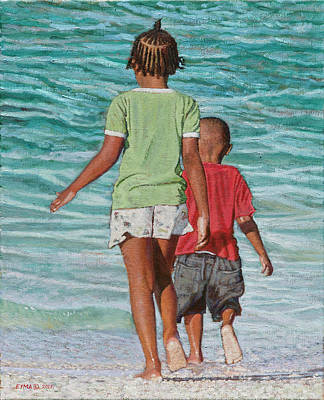 Painting - Summer Fun by Ritchie Eyma