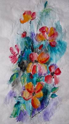 Painting - Summer Garden #1 by Melanie Stanton