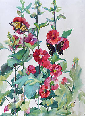 Painting - Summer Garden by Bonny Lundy