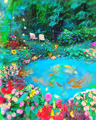 Photograph - Summer Garden by Gina Signore
