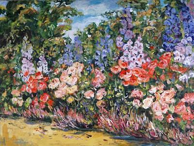 Painting - Summer Garden IIi by Ingrid Dohm
