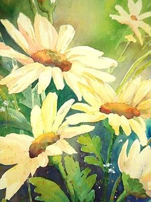 Painting - Summer Garden by J Worthington Watercolors