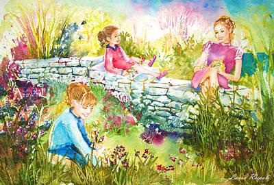 Painting - Summer Garden by Laura Rispoli