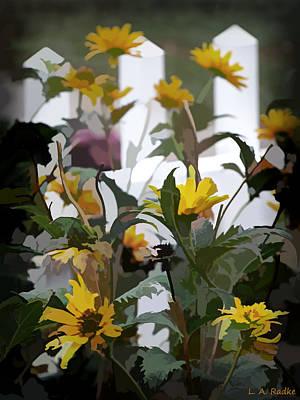 Photograph - Summer Garden by Lauren Radke