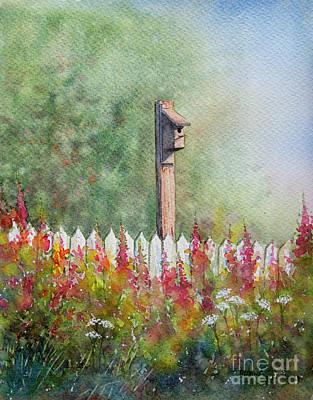 Painting - Summer Garden by Rebecca Davis