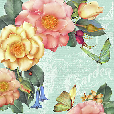 Digital Art - Summer Gifts-b by Jean Plout
