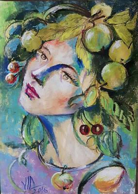 Painting - Summer Girl by Vali Irina Ciobanu
