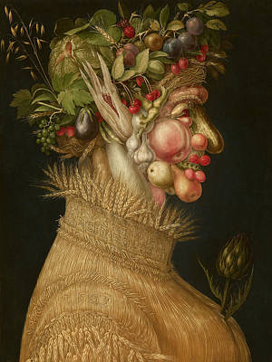 Painting - Summer by Giuseppe Arcimboldo