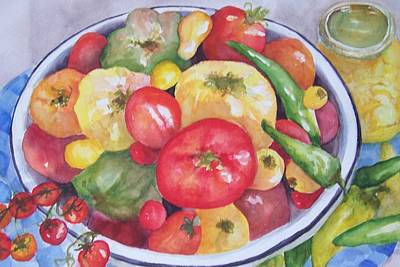 Painting - Summer Harvest by Sandy Collier