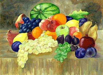 Painting - Summer Harvest by Sharon Mick