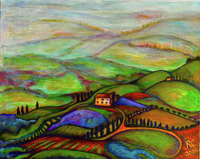 Painting - Summer Hills by Rae Chichilnitsky