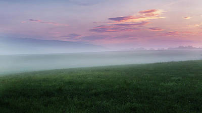 Photograph - Summer Hills Sunrise by Bill Wakeley