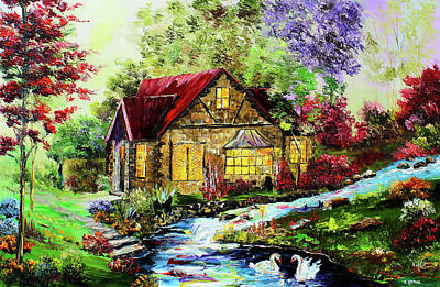 Painting - Summer Home by Kevin Brown