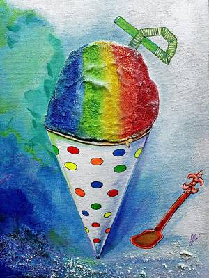 Painting - Summer Ice by John Duplantis