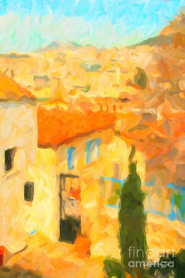 Painting - Summer In Athens by Chris Armytage