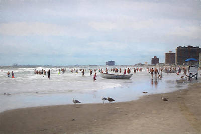 Photograph - Summer In Atlantic City by John Rivera