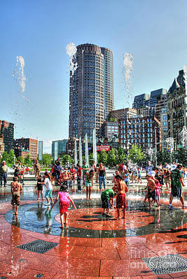 Photograph - Summer In Boston by Adrian LaRoque