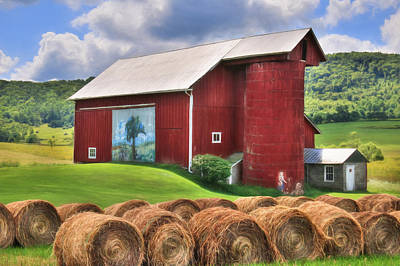 Digital Art - Summer In Bradford County by Lori Deiter