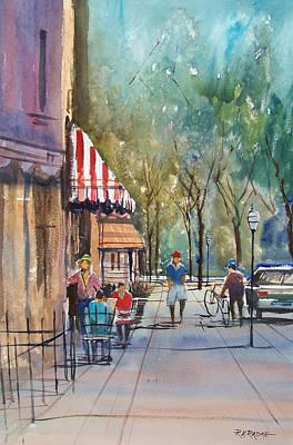 Painting - Summer In Cedarburg by Ryan Radke