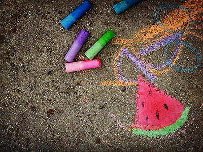 Photograph - Summer In Chalk by Valerie Reeves