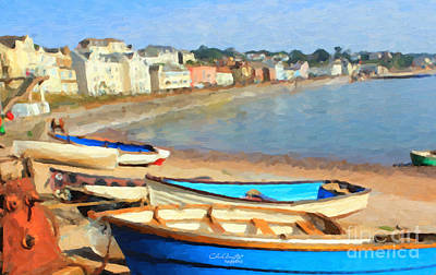 Summer In Dawlish Art Print