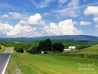 Pendleton County Photograph - Summer In Fort Seybert by Teena Bowers