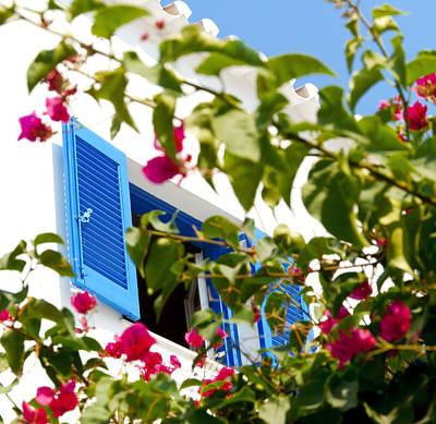 Summer In Greece Art Print by Ilias Kordelakos