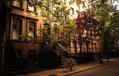 Tree Lines Photograph - Summer In New York City - Greenwich Village by Vivienne Gucwa