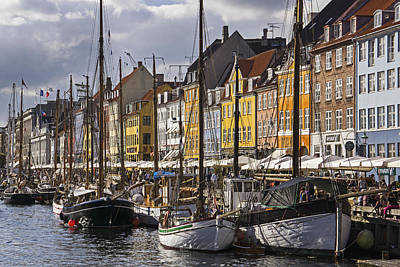 Photograph - Summer In Nyhavn by Inge Riis McDonald