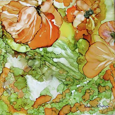 Painting - Summer In Orange by Rosie Brown