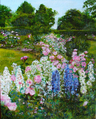 Summer In Queen Elizabeth Park #1 Original by Anees Peterman