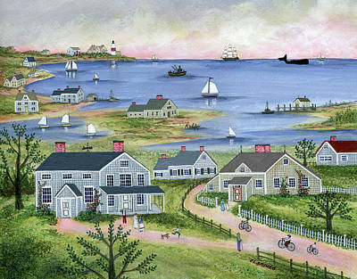 Achieving - Summer in Sconset by Janet Munro