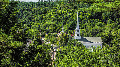 Photograph - Summer In Stowe by Scenic Vermont Photography