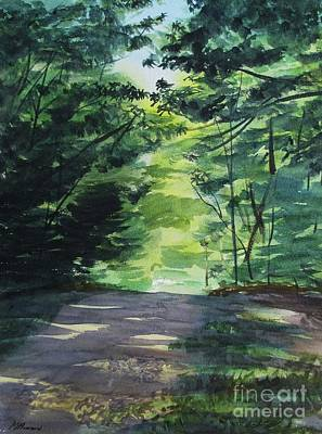 Painting - Summer In The Chestnut Woods by Martin Howard