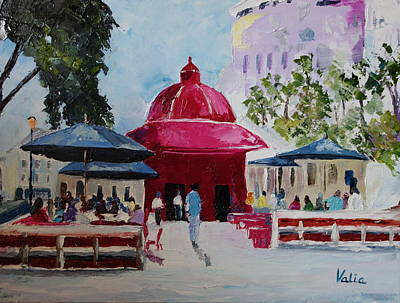 Painting - Summer In The City by Valerie Curtiss