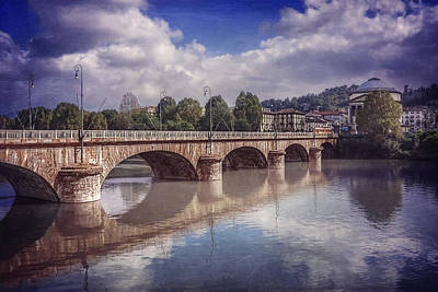 Summer In Turin  Art Print by Carol Japp