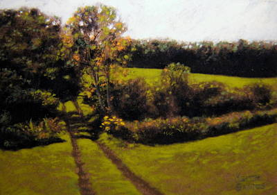 Painting - Summer In Vermont by Keith Gantos