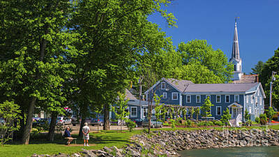 Photograph - Summer In Waitsfield by Scenic Vermont Photography