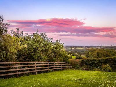 Photograph - Summer Irish Sunset Over County Clare by James Truett