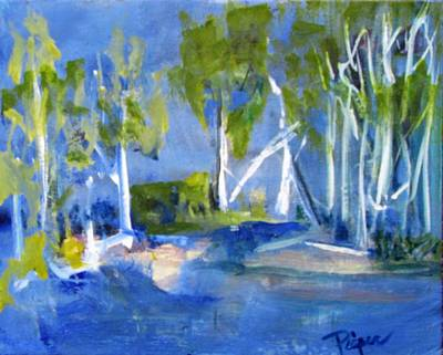 Painting - Summer Isle by Betty Pieper