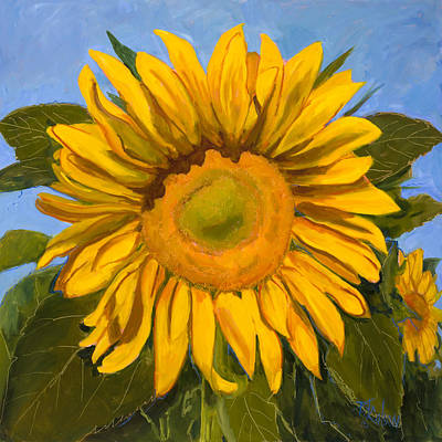 Large Format Painting - Summer Joy by Billie Colson