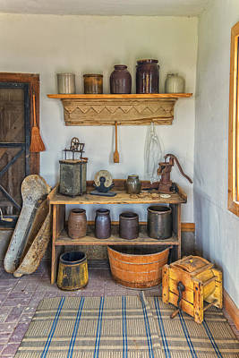 Photograph - Summer Kitchen Hermann Farm Mo Dsc2687 by Greg Kluempers