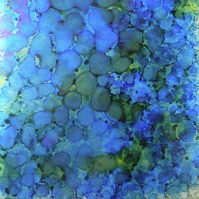 Painting - Summer Lake Ink #5 by Sarajane Helm