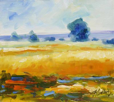 Summer Painting - Summer Landscape by Irek Szelag