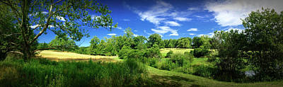 Connemara Digital Art - Summer Landscape Two by Gary Conner