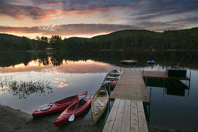 Photograph - Summer Life In Maine by Darylann Leonard Photography