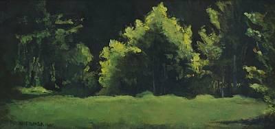Painting - Summer Light by Bill Tomsa