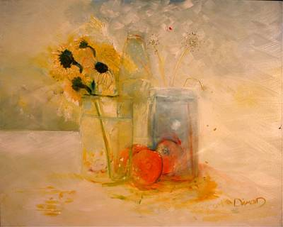Daiseys Painting - Summer Light by Jack Diamond